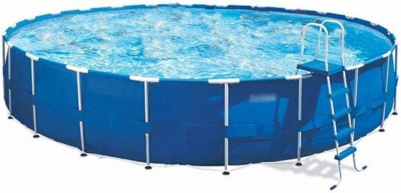 Topashe Piscina Infantil Hinchable Bebe,Piscina Redonda, Piscina Grande para niños-Bomba de Filtro,Piscina Hinchable Familiar Swim Center: Amazon.es: Hogar
