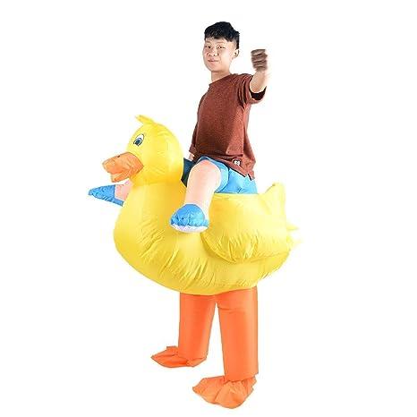 HAPPY WALK Disfraz de Pato Inflable de Halloween Adultos ...