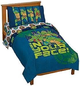 Amazon.com : Jay Franco Nickelodeon Teenage Mutant Ninja ...