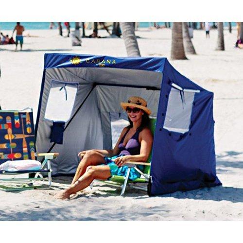RIO Sol Cabana Sun Shelter – Blue