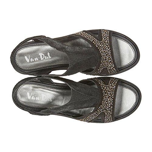 Van Dal Women's Beta T-Bar Sandals Black VqUTf