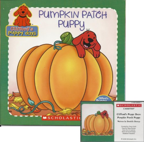 Pumpkin Patch Puppy Book and Audiocassette Tape Set