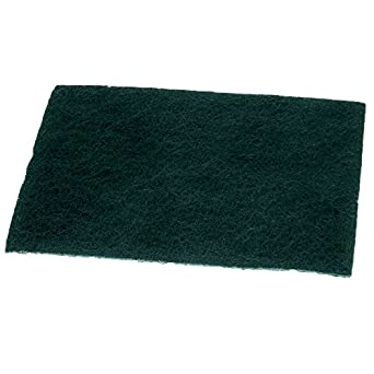 Pack of 10 General Purpose Scouring Pads Green