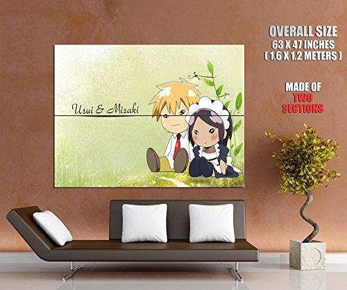ZV2205 Kaichou Wa Maid-Sama Misaki Takumi Painting Funny Cute Anime Manga Art HUGE GIANT Wall Print POSTER