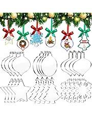 Acrylic Christmas Ornaments Blanks