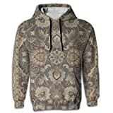 Men's Hoodie Best Tunic Pullover covent Garden Persian Traditional Jogger