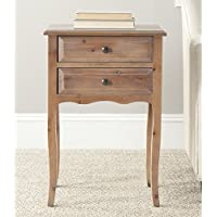 Safavieh American Homes Collection Lori Red Maple End Table