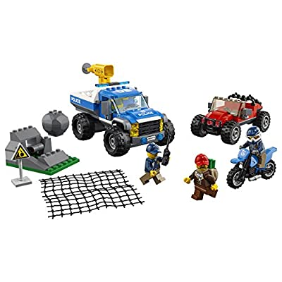 LEGO City Dirt Road Pursuit 60172 Building Kit (297 Pieces): Toys & Games