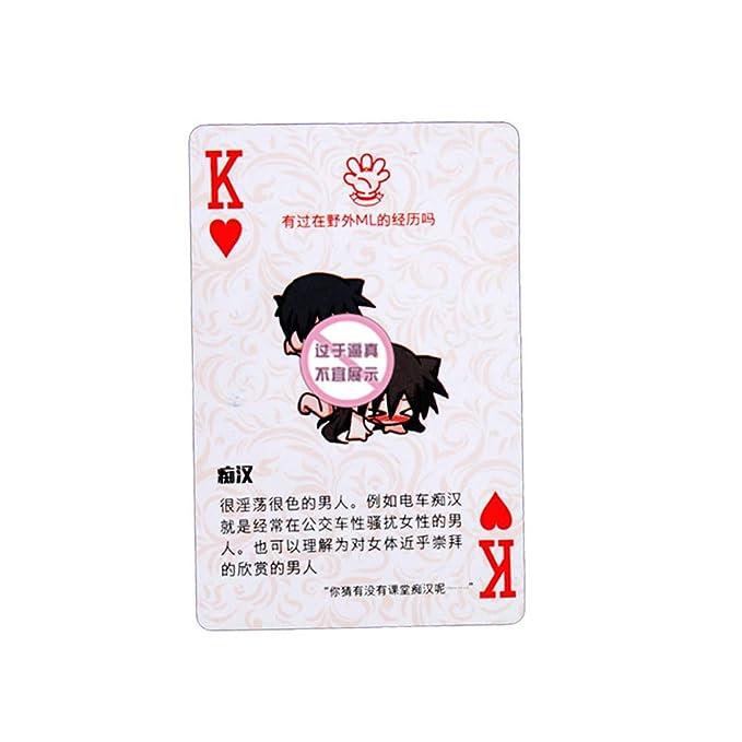 BESTOYARD Jugando a las cartas eróticas Divertidos jugadores ...