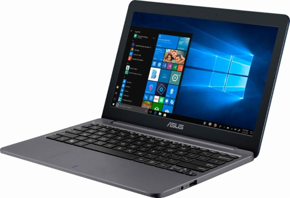 "Asus Vivobook E203MA Thin and Lightweight 11.6"" HD Laptop, Intel Celeron N4000 Processor, 4GB RAM, 64GB eMMC Storage… 3"