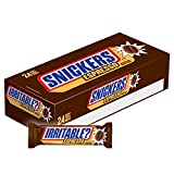 SNICKERS Singles Size Espresso Chocolate Candy Bars 1.82-Ounce Bar (24-Count Box)