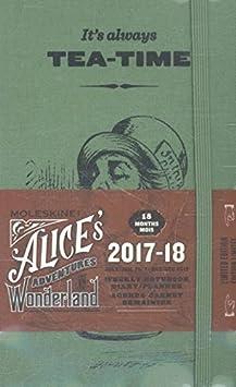 Moleskine Agenda Settimanale Alice, 12 Mesi, con Spazio per Note, Tascabile, Blu Oltremare Aa.Vv. DAL12WN2Y18