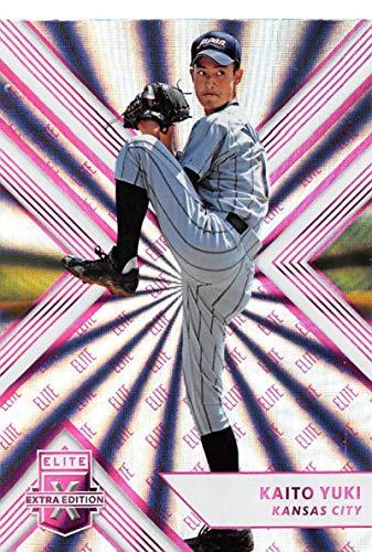 2018 Elite Extra Edition EEE Pink Baseball #197 Kaito Yuki Kansas City Royals Official NCAA/Prospect Trading Card By Panini Blaster Exclusive Pink Pa (Set Kaito)