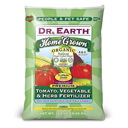 - Dr. Earth Home Grown Tomato, Vegetavle & Herb Fertilizer 12 lb