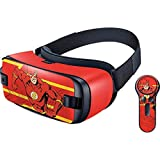 DC Comics Flash Gear VR with Controller (2017) Skin - Jagged Flash Vinyl Decal Skin For Your Gear VR with Controller (2017)