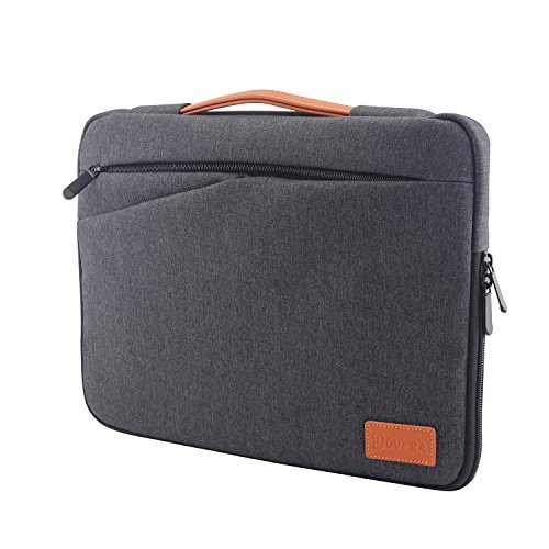 bag for 13 Inch Laptop Water-resistant Neoprene Notebook Computer Pocket with Handle Tablet Briefcase Carrying Bag/Pouch Skin Cover for Acer/Asus/Dell/Lenovo (13 inch) ()