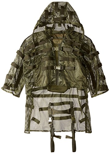 Ghillie Jacket - Voodoo Tactical Swank's Hydration Compatible Lightweight Sniper Tog,OD Green