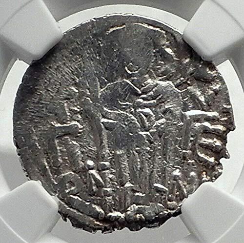 1000 TR JOHN II EMPIRE of TREBIZOND Ancient AR Byzantine coin VF NGC
