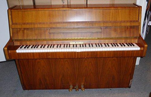 Piano Marca Gebr. Schulz - Nogal Medio usado: Amazon.es: Instrumentos musicales