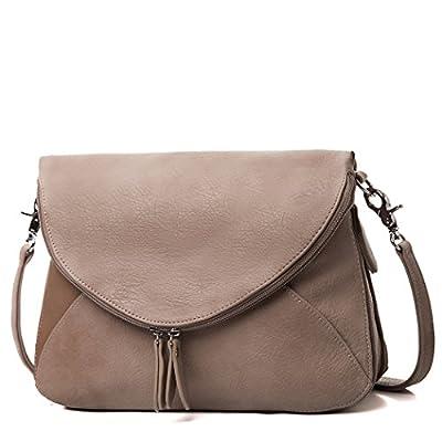 AMELIE GALANTI Zipper Flap Women's Shoulder Bags Crossbody Bag Messenger Bag