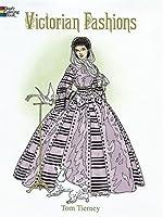 Victorian Fashions Coloring Book (Dover Fashion