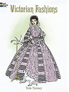 victorian fashions coloring book dover fashion coloring book