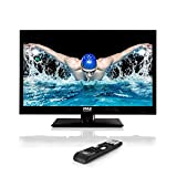 Upgraded Pyle 21.5-Inch 1080p TV | Ultra HDTV | LED Hi Res Widescreen Monitor HDMI Cable RCA Input | TV Monitor | Audio Streaming Mac PC | Stereo Speakers | HDTV Wall Mount