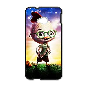 HTC One M7 Cell Phone Case Black Chicken Little D2297246
