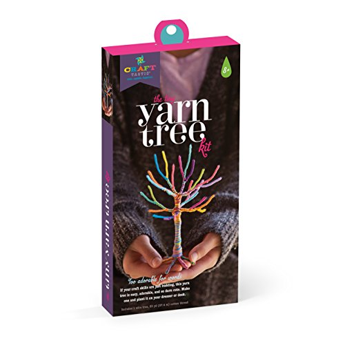 Ann Williams Group Craft-Tastic Tiny Yarn Tree Kit (Tree Craft Kit)