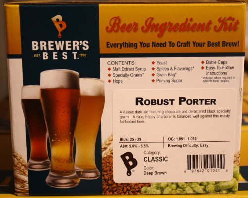 (Brewer's Best Robust Porter Home Brew Ingredient Kit)