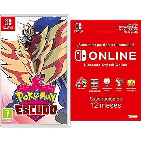 Pokémon Escudo [Nintendo Switch] + Switch Online 12 Meses ...