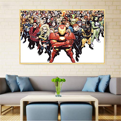 taoyuemaoyi Superhéroes Marvel Character DC Comics Pop Art ...