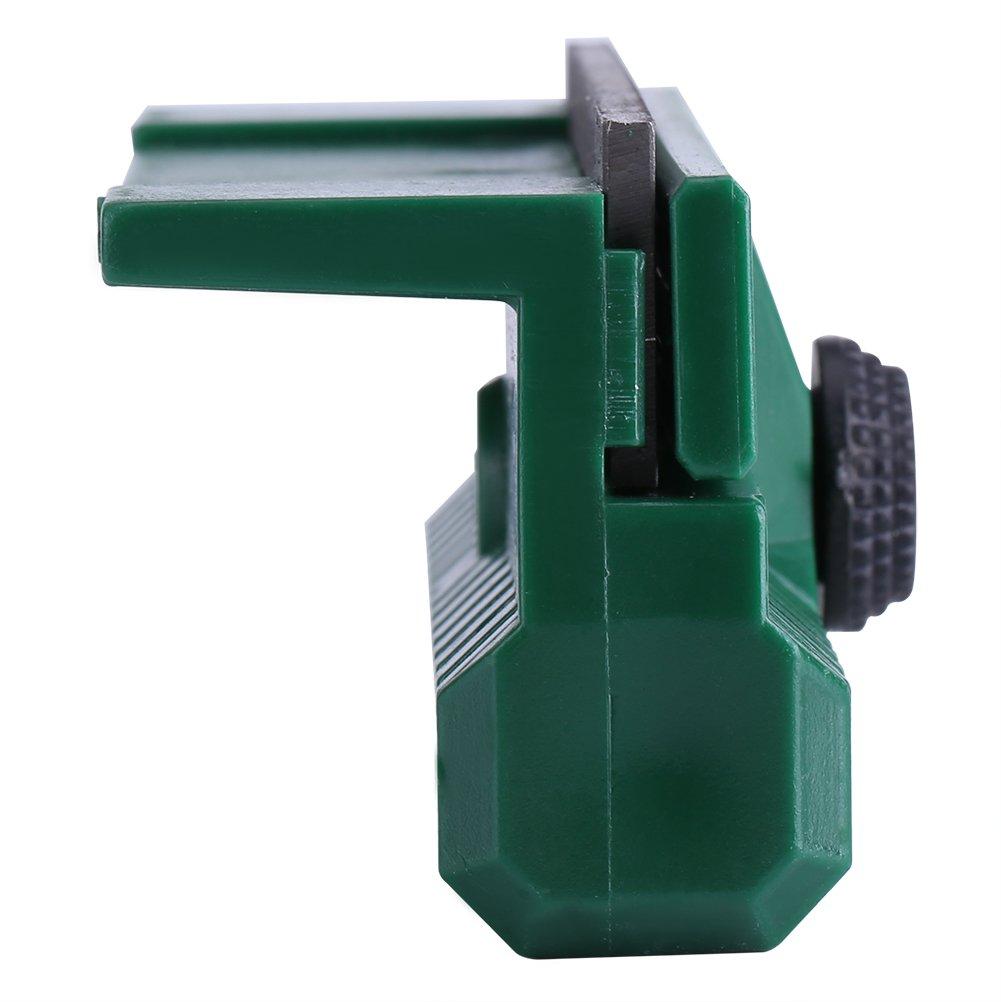 Gu/ía de cadena de sierra de cadena universal Bar Rail Dresser Lawn Garden Tool 11cmx6cmx4cm
