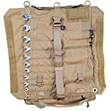 Atlas 46 Yorktown Tool Roll, Coyote Brown - Ultra Portable, Innovative and Durable Design, Large Capacity Wrench…