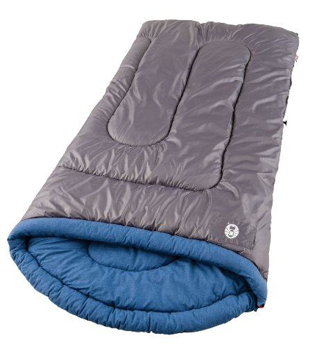 Coleman White Water Large Cool-Weather Scoop Sleeping Bag, Outdoor Stuffs
