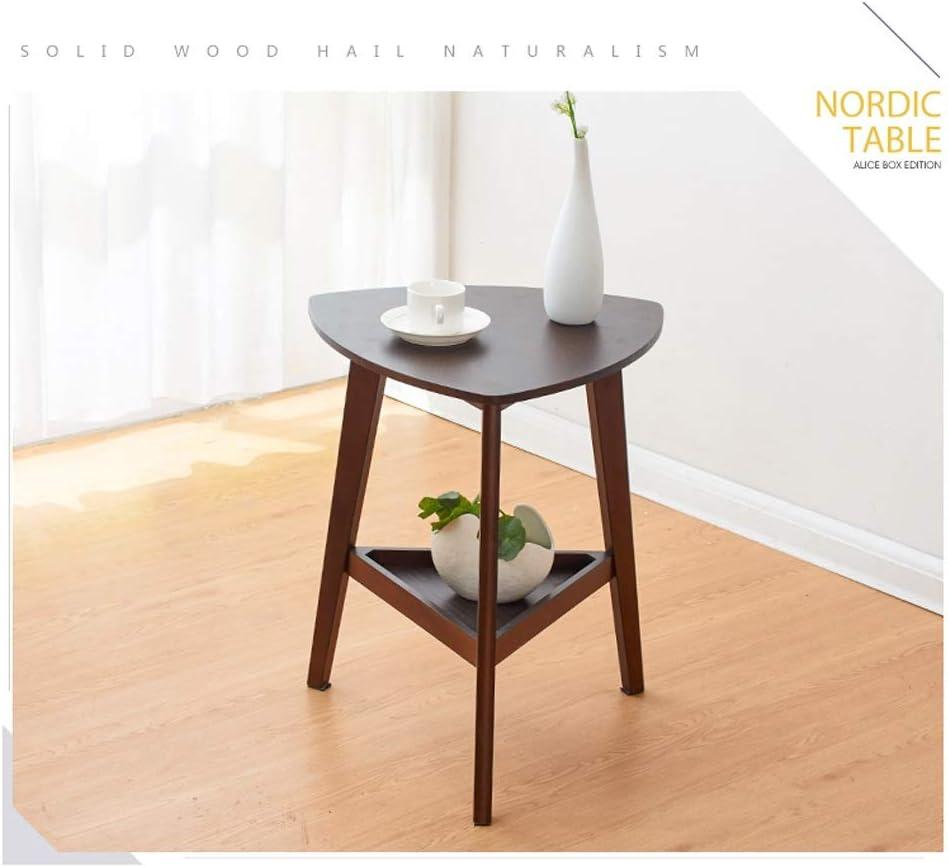 Online Winkelen Salontafels For Outdoor Salontafels For Living Room 2 Verdiepingen Kleine Ronde Koffie Eigentijdse Koffietafel 4.11 (Color : Wood color) Brown VRVAwmQ