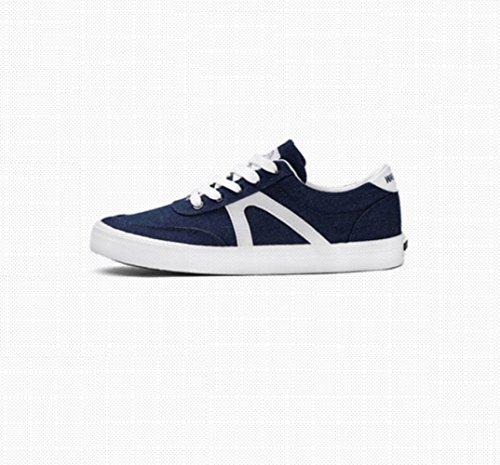 di estive XFF da Blu tela di tendenza scarpe scarpe casual scarpe studenti uomo uomo traspiranti scuro da uomo scarpe Scarpe da scarpe RFUWrnFAI