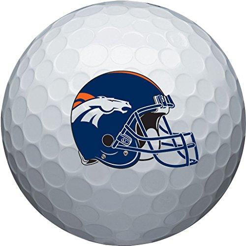 - NFL Denver Broncos Golf Ball, Pack of 6