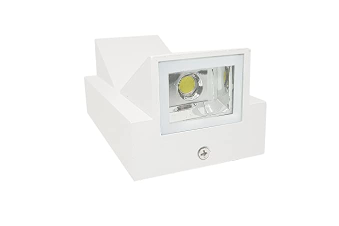 Applique led w bianco lampada luce parete plafoniera faretto