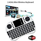 HEIHEI Wireless 2.4GHz Mini Handheld Keyboard With Touchpad For Smart Android TV Box/ IPTV/ Windows/ Mac/ PC/ XBOX 360/ PS3SLIM, etc