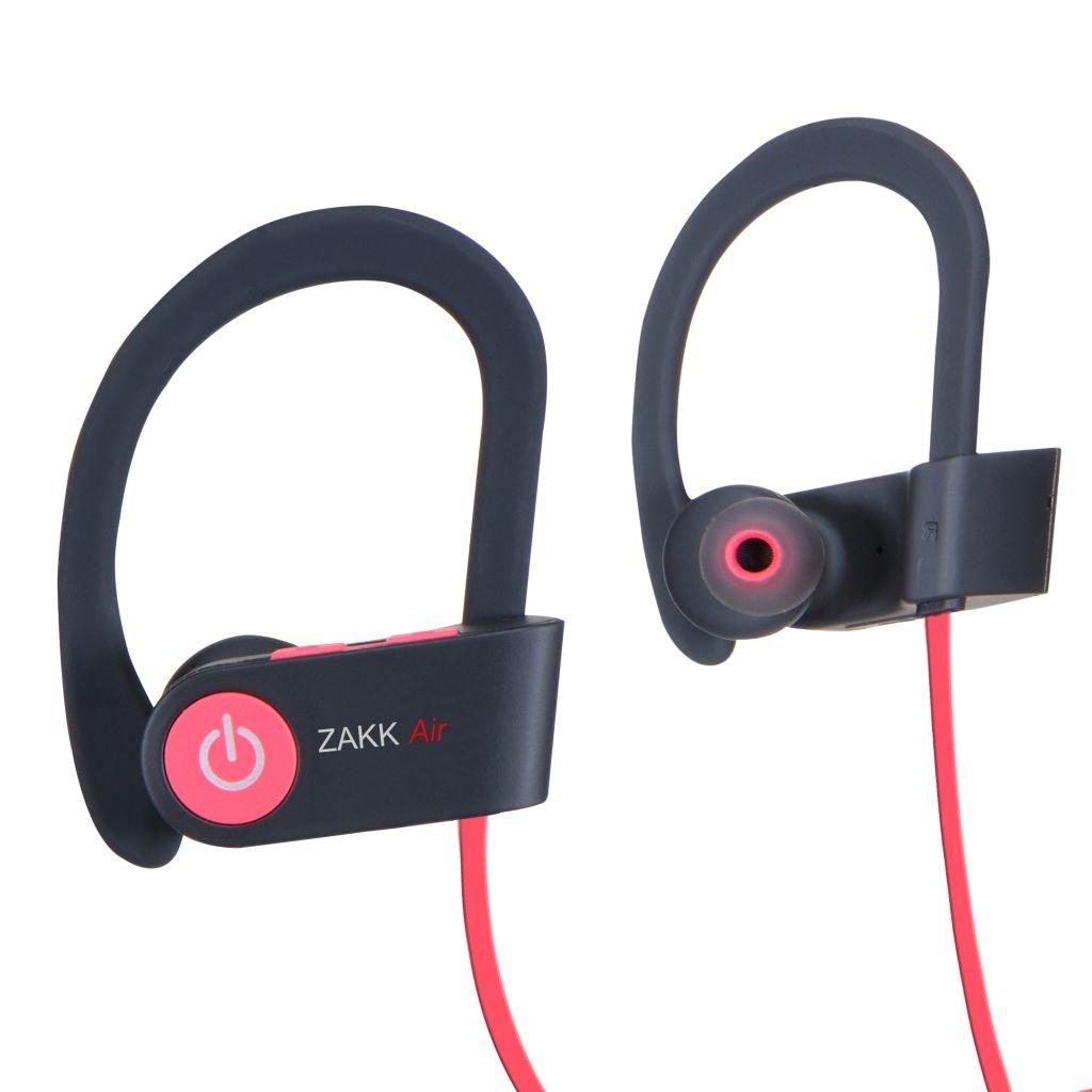 Zakk V1 Air in-Ear Bluetooth Earphone with Mic (Red)
