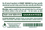 Natural Shoe Deodorizer Powder & Foot Odor