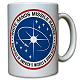 us army stove - White Sands Missile Range WSMR WSPG Proving Grounds United States US Army Rockets Drones Badges Coat of Arms Patch Atomic Bomb - Coffee Cup Mug