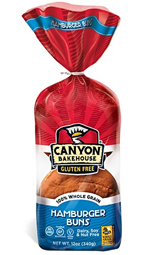 Canyon Bakehouse Gluten Free Hamburger Buns
