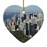 Zazzle New York the Twin Towers Nyc Keepsake Ornament Heart