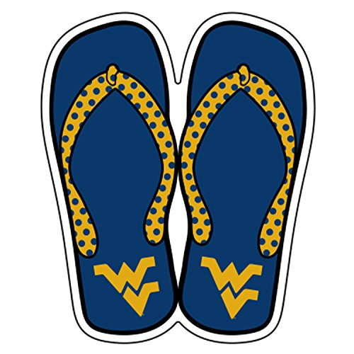West Virginia Magnet WV FLIP FLOPS MAGNET 6