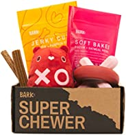 Super Chewer by BarkBox Monthly Subscription Box   Dog Box Care Package for Aggressive Chewers   Durable Dog T