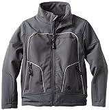 Urban Republic Little Boys' Little Boy 2177KC Soft Shell Jacket, Charcoal, 7