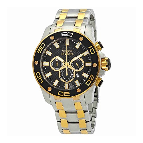 Invicta Pro Diver Chronograph Black Dial Mens Watch 26081