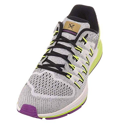 Zapatillas Nike Mujeres Air Zoom Odyssey 2 Blanco / Negro-volt-vivid Purple